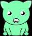 豚のイラスト2