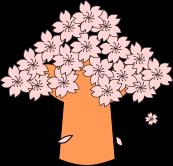 花見のイラスト1
