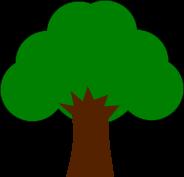 木のイラスト1