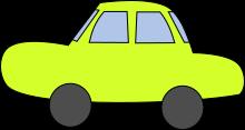 車のイラスト1