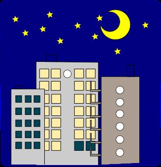 オフィス背景のイラスト1