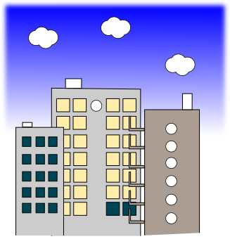 オフィス背景のイラスト2