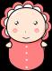 赤ちゃんのイラスト1