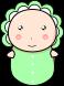 赤ちゃんのイラスト2