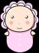 赤ちゃんのイラスト4