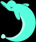 イルカのイラスト7