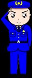 警察官のイラスト1