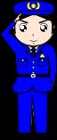 警察官のイラスト2