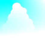 入道雲のイラスト1