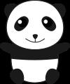パンダのイラスト1