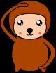 猿のイラスト5