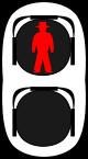 信号機のイラスト2