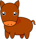 馬のイラスト1