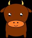 牛のイラスト2