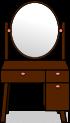 鏡台のイラスト2
