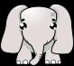 象のイラスト3
