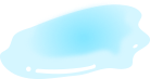 水たまりのイラスト1