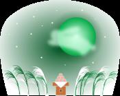 お月見のイラスト3