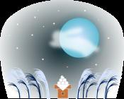 お月見のイラスト4