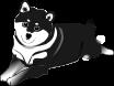 柴犬のイラスト3