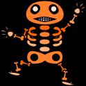 骸骨のイラスト4