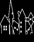 ハロウィン城背景のイラスト2