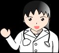 医者 女性イラスト1