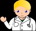 医者 男性のイラスト3