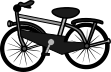 自転車のイラスト6