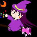 魔女のイラスト6