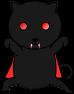 猫吸血鬼のイラスト1