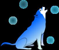狼のイラスト2