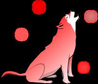 狼のイラスト3