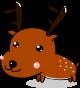 鹿のイラスト1