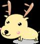 鹿のイラスト2