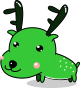 鹿のイラスト3