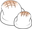 餅のイラスト1
