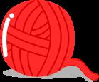 毛糸のイラスト1