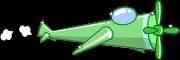 プロペラ機のイラスト3