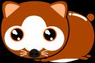 狸のイラスト2