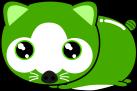 狸のイラスト4