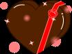 バレンタインのイラスト1