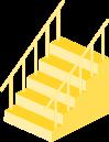 階段のイラスト2