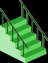 階段のイラスト3