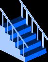 階段のイラスト4