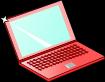 ノートパソコンのイラスト1