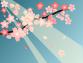 春背景のイラスト4