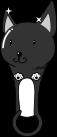 スパナ猫のイラスト1