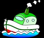 船のイラスト2