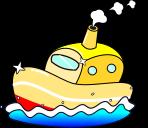 船のイラスト3